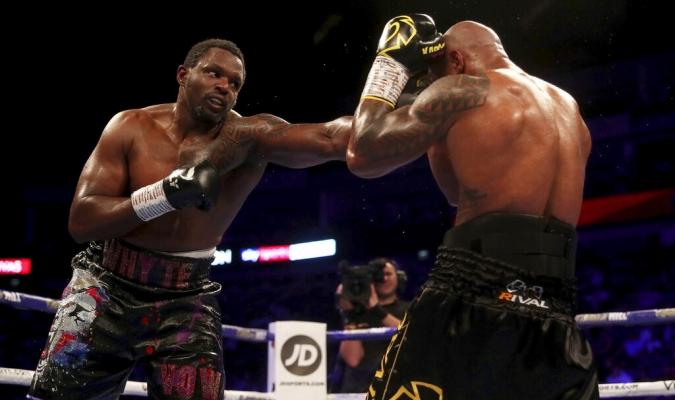 Whyte terminó victorioso a pesar de su caída en el noveno asalto // Foto: AP
