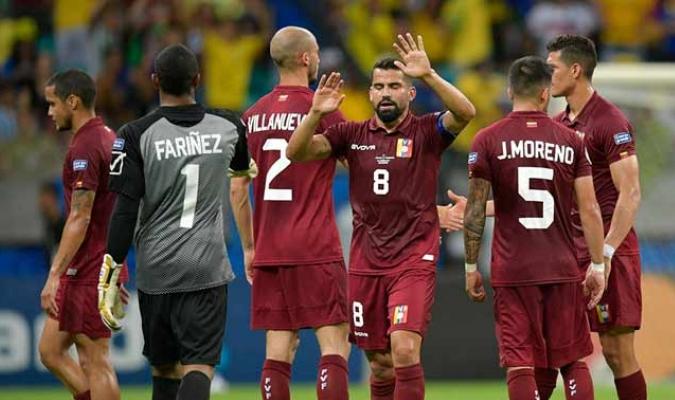 Los criollos vienen de disputar la Copa América l Foto: Cortesía