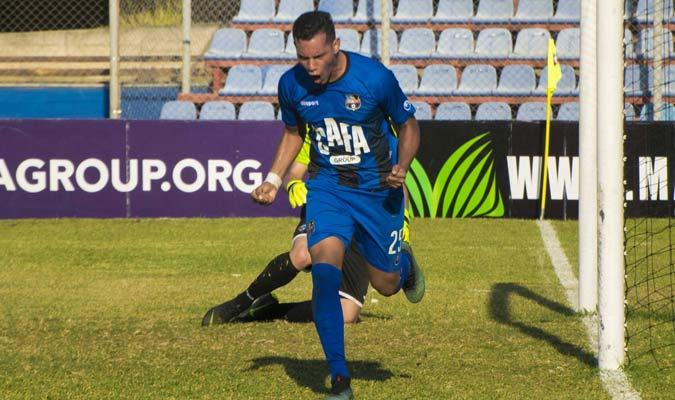 Paredes marcó el único gol del partido || Foto: Cortesía