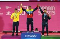 ¡Pesas de oro! Mayora recibió su medalla dorada