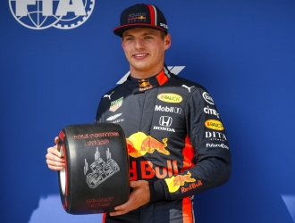 Verstappen arrancará primero en Hungría / Foto: AP