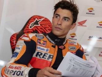 Márquez no quiso ahondar en las palabras de Rins / Foto: Cortesía