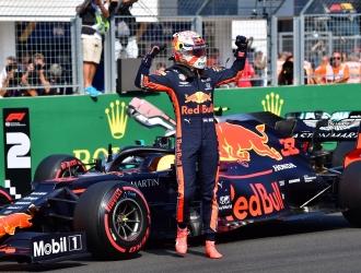 Verstappen  se quedó con la pple húngara / Foto: Cortesía