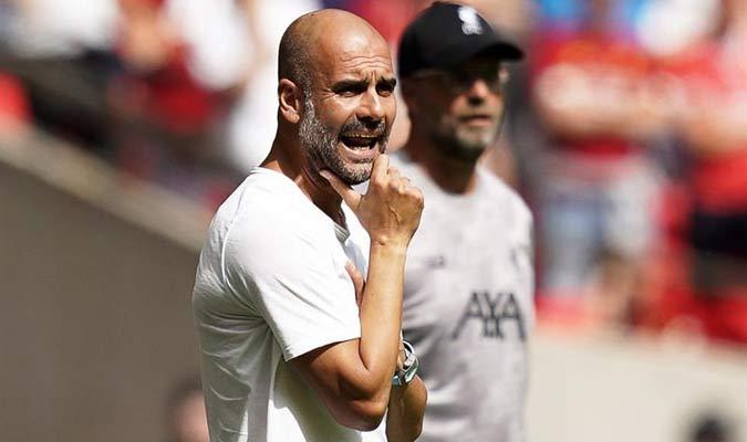 El entrenador catalán elogió a su guardameta / Foto: EFE