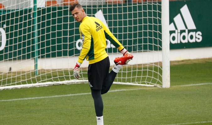 Adrián San Miguel  entró en el minuto 39 / Foto Cortesía