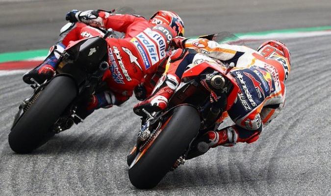 Márquez no pudo ganar en el circuito Red Bull Ring /  Foto: Cortesía