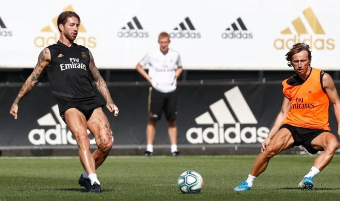 Ramos se prepara para el inicio liguero / Foto: Cortesía