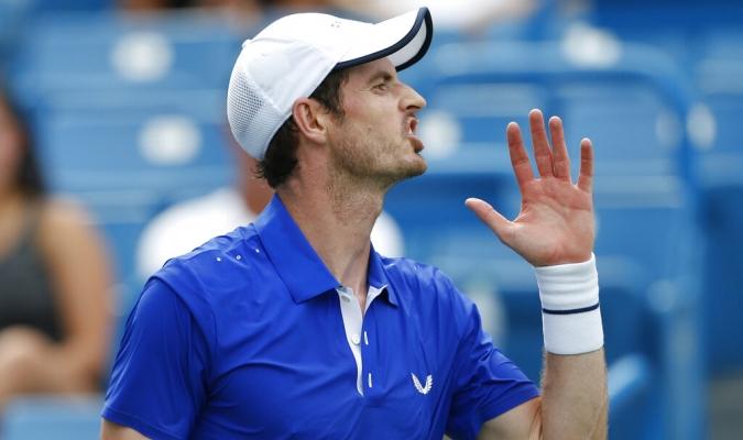 Murray volvió tras su operación de cadera / Foto: AP