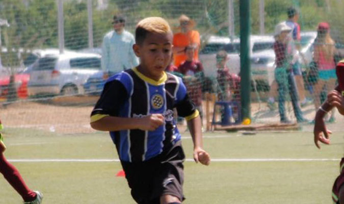 Navarro era categoría 2010 / Foto Cortesía