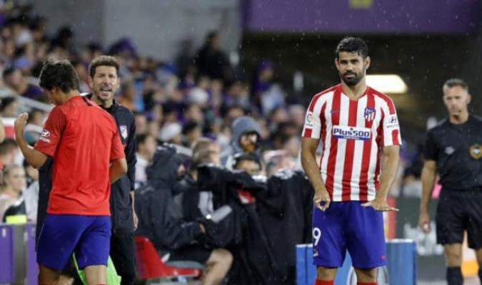 Costa se lesionó en el duelo ante Juventus / Foto: Cortesía