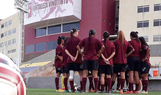 La selección se concentra en Margarita / Foto: FVF