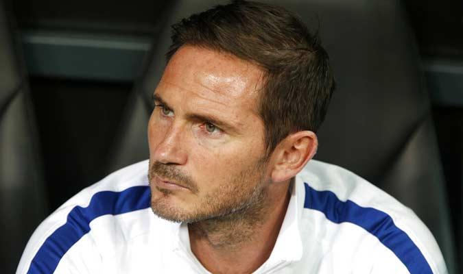 Es la primera final que dirige Lampard / Foto: AP