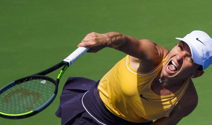 Simona Halep remontó tras ceder el primer set y se impuso 3-6, 7-5, 6-4 ante la rusa Ekaterina Alex