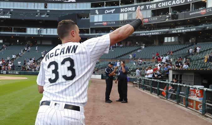McCann conectó cuadrangular en la últi a entrada / Foto: AP