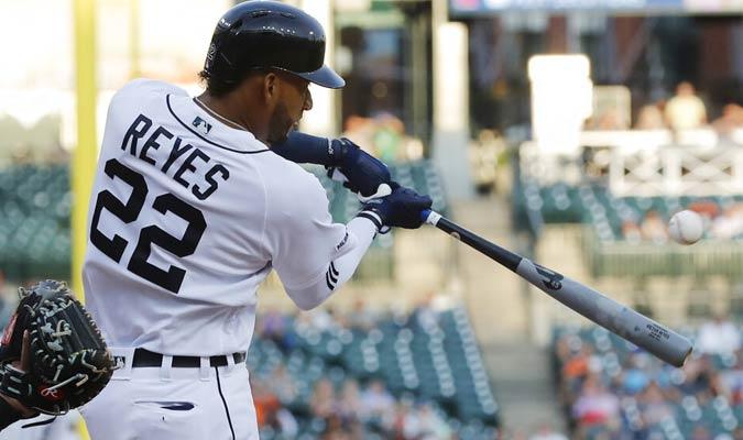 Reyes tiró un indiscutible de dos carreras / Foto: AP