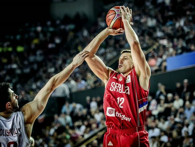 El serbio juega en el Unicaja de Málaga / Foto: Archivo