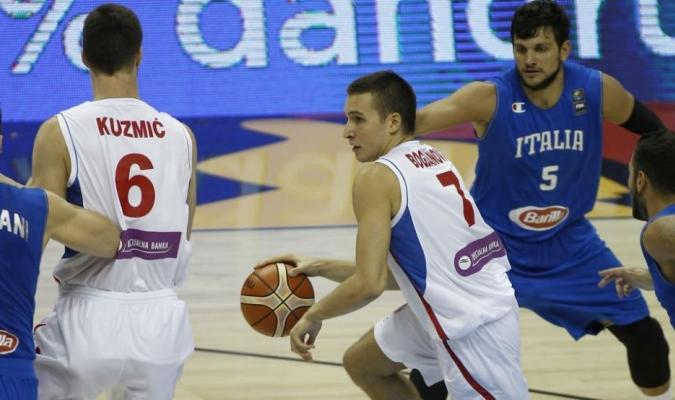 Serbia dominó con comodidad a Italia / Foto: Cortesía