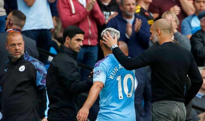 City y Tottenham igualaron a dos / Foto: AP