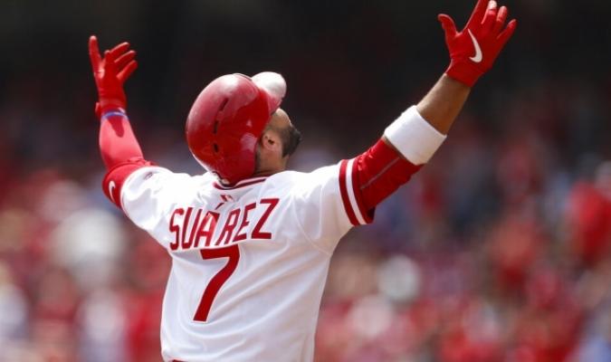 Suárez despachó el 34 de la campaña / Foto: AP