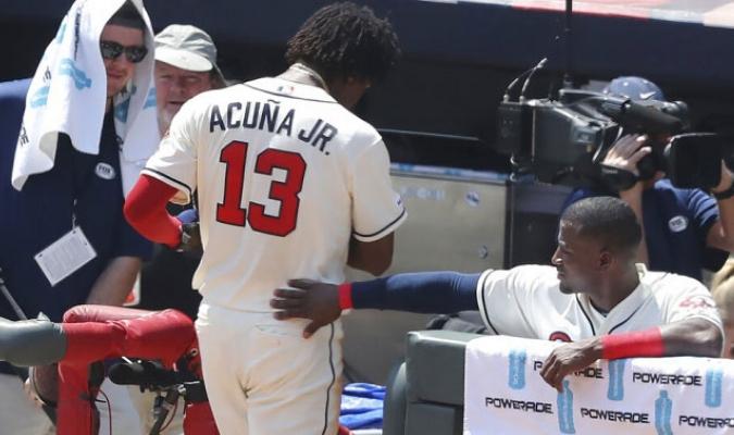 Acuña Jr. respetó la decisión del mánager / Foto: Cortesía
