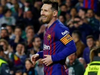 Messi marcó un espectacular gol ante el Betis/ Foto Cortesía