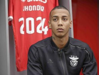 El delantero fichó hasta 2024 con Benfica || Foto: Cortesía