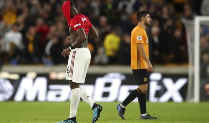 Pogba falló un penal ante Wolves / Foto: Cortesía