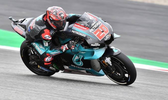 Quartararo casi alcanza el récord de Márquez en Silverstone/ Foto AP