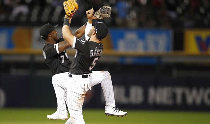Los jugadores de Chicago celebran su victoria / Foto: Ap