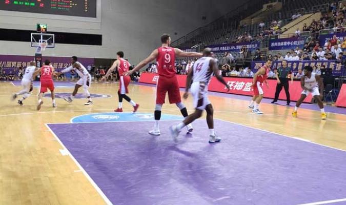 El torneo se disputa en Shizou l Foto: FVBasketball