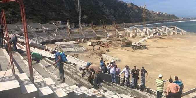 El recinto está en construcción/ Foto Cortesía