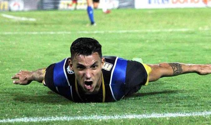 Richar Blanco anotó dos veces / Foto: Cortesía