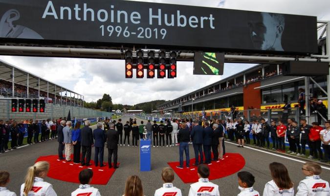 La F1 dedicó un minuto a la memoria del piloto / Foto: Cortesía