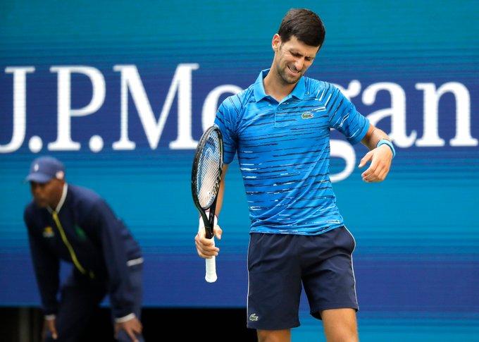 Djokovic perdía el tercer set / Foto: Cortesía