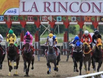 Carreras del domingo de La Rinconada / Foto: Cortesía