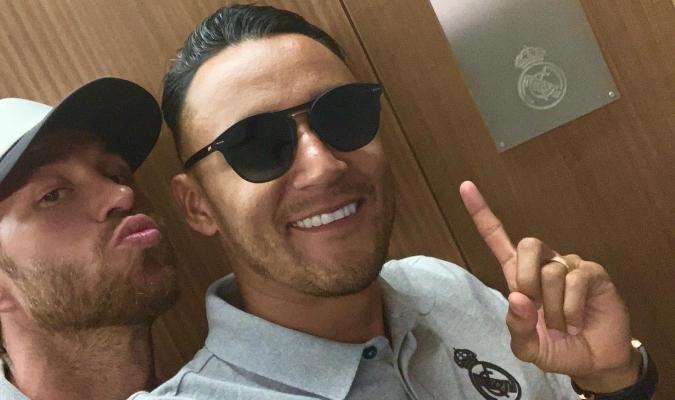 Ramos le dedicó un mensaje a su amigo / Foto: Cortesía (@SergioRamos)