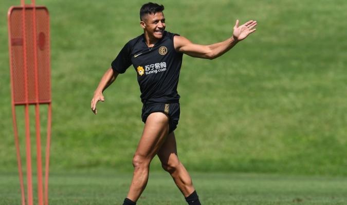 Sánchez se prepara para el duelo ante el Barça / Foto: Cortesía