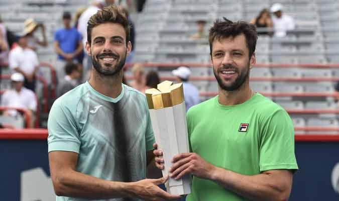 La pareja disputará su primera final / Foto: AFP
