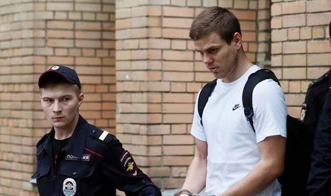 Los futbolistas fueron condenados a 18 meses de prisión l Foto: Cortesía