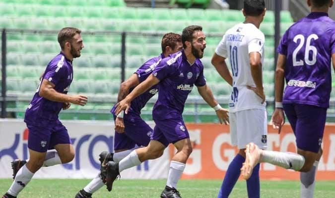 Los 'violetas' ocupan el tercer puesto de la tabla l Foto: Cortesía