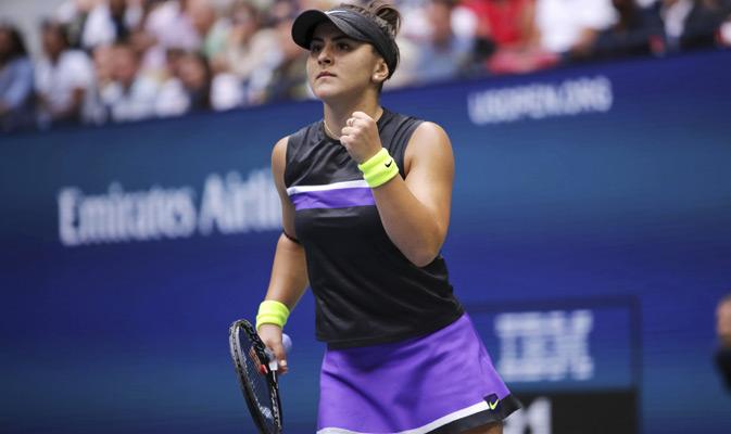 Andreescu conquistó su primer título de Grand Slam / Foto: AP
