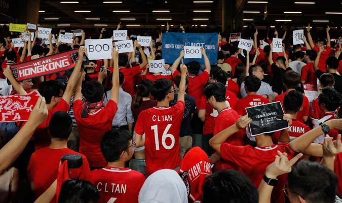 Había 14 personas presentes en el estadio / Foto: AP