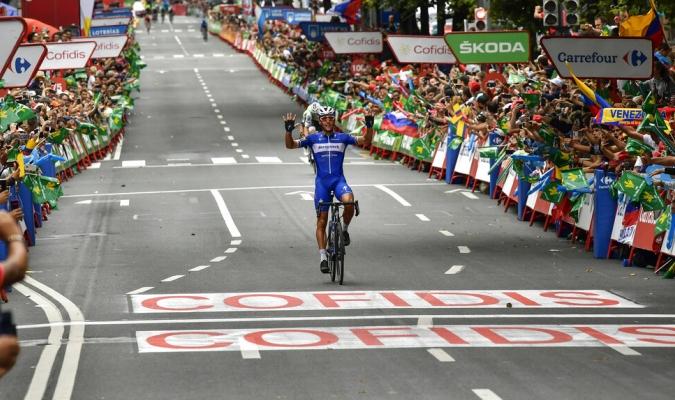 Gilbert ganó la decimoséptima etapa / Foto: Cortesía