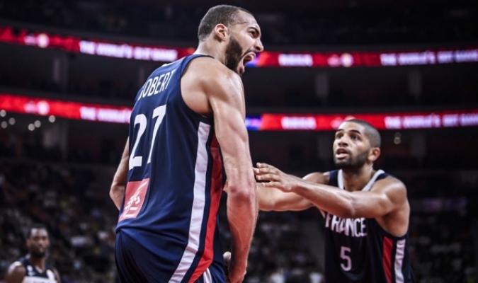 Francia avanzó a la semifinal de torneo / Foto: Cortesía FIBA