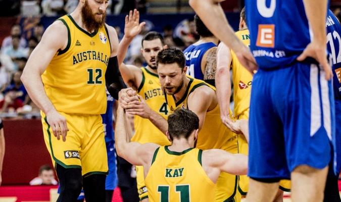 Australia se medirá en semis con España / Foto: Cortesía FIBA