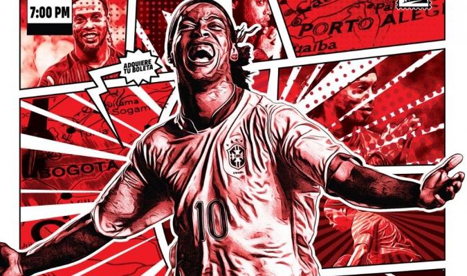 Ronaldinho volverá a las canchas en octubre / Foto: Cortesía