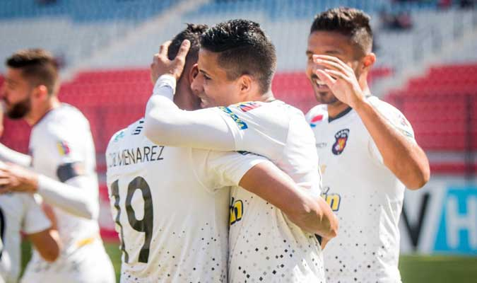 El partido se disputó en el estadio Metropolitano de Mérida l Foto: Caracas FC