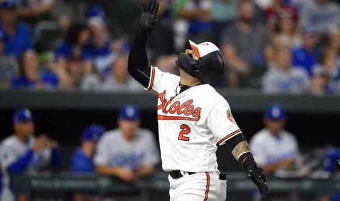 Villar rompe el récord de HRs en la MLB / Foto: AP