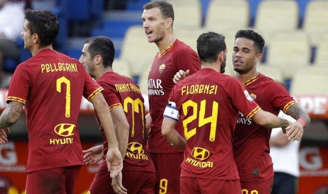 La Roma arrolló a su rival en el primer tiempo / Foto: AP
