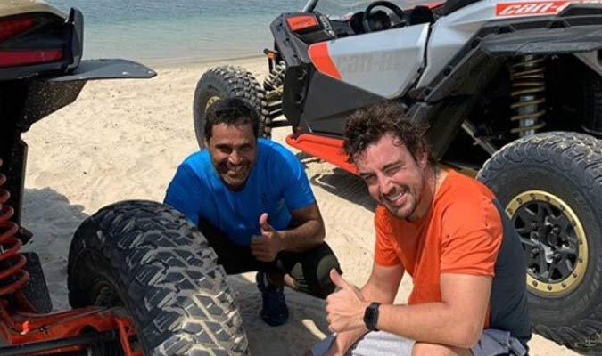 Alonso continúa su preparación/ Foto Cortesía
